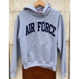Champion Grey Air Force Hoodie